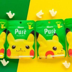 ピカチュウとピュレグミがコラボしたピュレグミ でんげきトロピカ味が発売決定