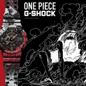 G-SHOCKとONE PIECEがコラボレーションしたモデルが発売