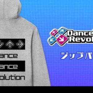 DanceDanceRevolution、AMNIBUSにてTシャツやジップパーカーなどの受注を開始!
