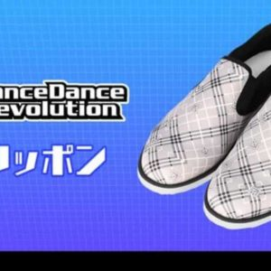 DanceDanceRevolution、AMNIBUSにてスリッポンの受注を開始!