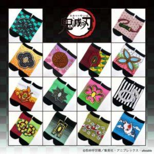 鬼滅の刃、OJICOオンラインショップにて靴下14種の予約販売を開始!